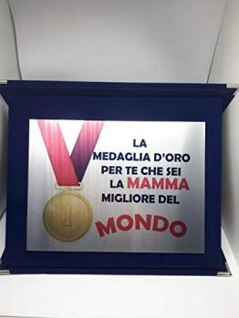 """Targa Di Riconoscimento Idea Regalo Festa della Mamma""""PREMIO MIGLIORE MAMMA"""" - 1"""