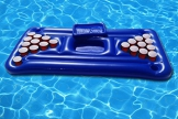 Tavolo da Beer pong Gonfiabile e Galleggiante per Mare e Piscina. Piscina gonfiabile Birra Pong. Gonfiabile piscina giocattolo Beer Pong materasso - 1