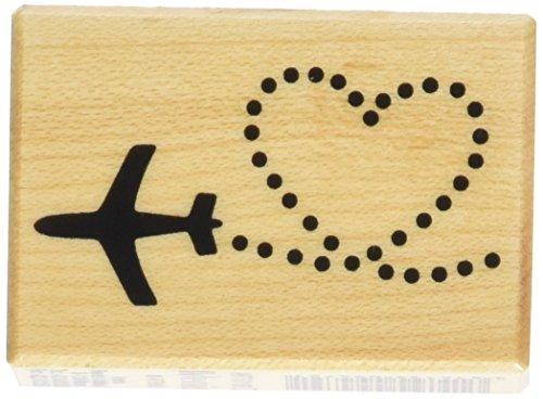 Timbri di legno - cuore aereo - 1