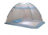 TININNA baldacchino- ombrellone riparo portatile bambini domestici baldacchino / zanzariera/Yurt per Lettino Pieghevole e Portatile.(80*110cm) - 1