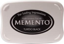 Tsukineko Tamponi di Inchiostro Memento Tuxedo, 9.8 x 6.8 x 1.8 cm - 1