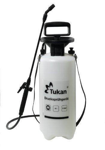 Tukan spruzzatore a pressione 5 litri, bianco - 1