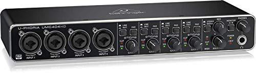 UMC404HD interfaccia audio 4x4 midi/USB 24 bit/192 khz con preamp midas e phantom + 48V - 1