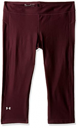 Under Armour UA HG Armour Capri, Leggings Sportivi/Pantaloni Pantacollant Donna - 1