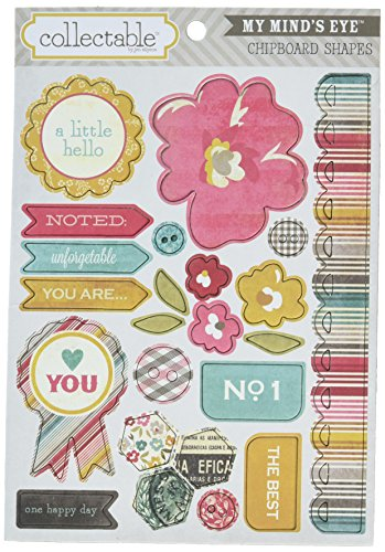 Unforgettable Collectable Chipboard Shapes-You Are - 1