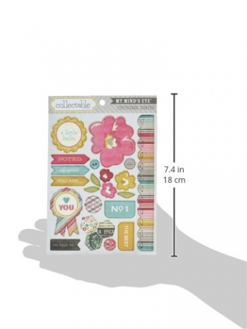 Unforgettable Collectable Chipboard Shapes-You Are - 2