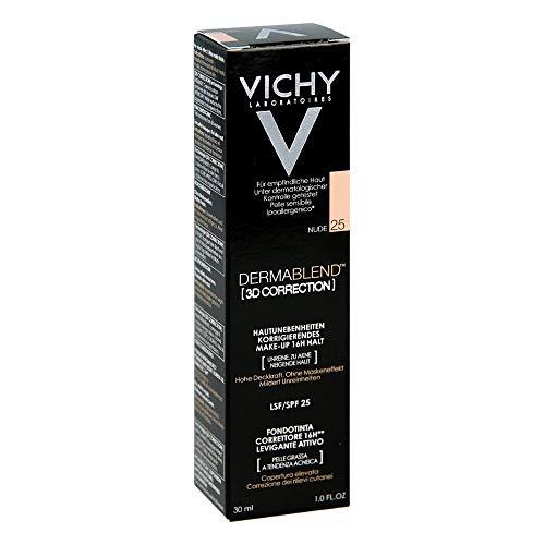 Vichy Dermablend 3D Fondotinta, con SPF 25, confezione da30ml - 1