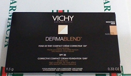 VICHY Dermablend fondotinta compatto crema 25 nude - 1