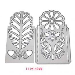 Viesky Candle box fustelle in metallo, stencil DIY carta scrapbooking album timbro goffratura Craft Decor - 1
