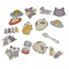 WENTS 20 Rotoli di Nastro Decorativo Washi Tape e 45 Pezzi Adesivi Stickers per Scrapbooking Arte Mestieri Office Party Supplies e confezione regalo - 1