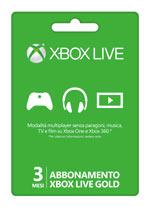 Xbox LIVE Gold - Abbonamento 3 mesi