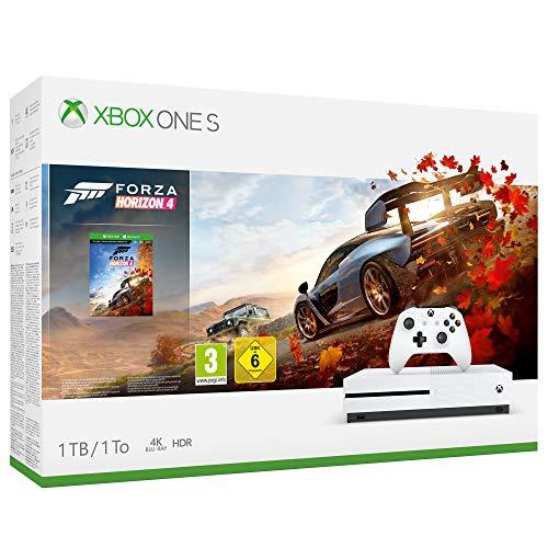 Xbox One S 1TB + Forza Horizon 4 + 14gg Xbox Live Gold + 1 Mese Gamepass [Bundle] - 1