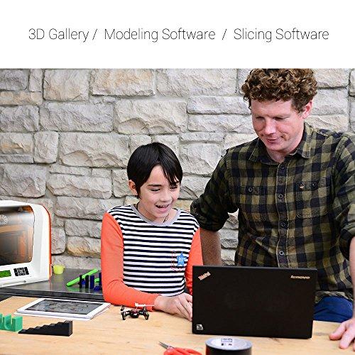 XYZprinting Stampante 3D da Vinci Jr. 1.0 (interamente Assemblata), Vol. Build 15 X 15 X 15 Cm, Livellamento Automatico - 1