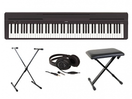 Yamaha Fullpack P45 - Pianoforte digitale portatile - 1