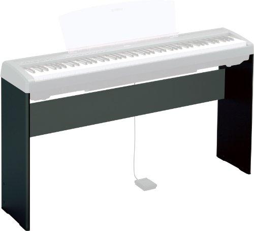 Yamaha L-85 Coppia di Supporti per Pianoforte Digitale, Nero - 1