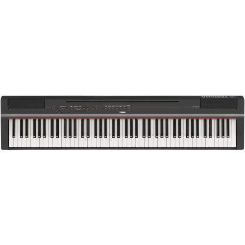 Yamaha p-125b–pianoforte Digitale, colore: Nero - 1