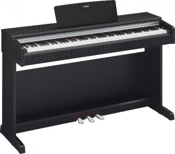 Yamaha YDP142B Pianoforte Digitale, Nero - 2