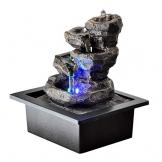 Zen Light Natura Galou Fontaine, Resina, Grigio, 21x 17x 23cm - 1