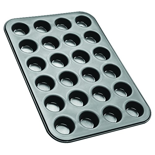 Zenker Black Metallic Stampo Muffin, Acciaio Inossidabile, Nero - 1