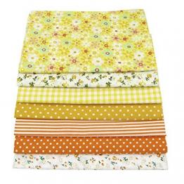 56pieces 25cm * 25cm No Repeat Design stampato tessuto di cotone floreale per patchwork, tessuti per patchwork,stoffa cotone tessuto stampato - 1