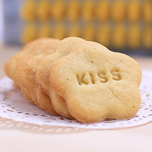 72PCS alfabeto numero e lettera Cookie Biscuit stamp Embosser cutter fondant, biscotti biscotti lettere timbro Goffratrice muffa taglierina DIY make any Message Letter - 1