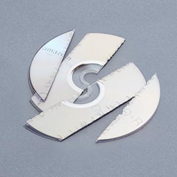 AmazonBasics - Distruggidocumenti 10/12 fogli, taglio incrociato, con funzione distruggi CD/carte di credito - 10