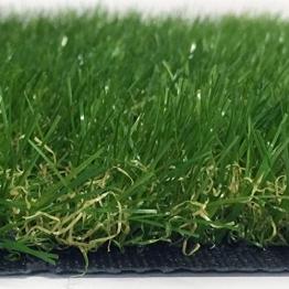 Ascot Erba Sintetica Altezza 4 cm Misura 4 x 3 Metri Doppio Colore Effetto Reale Drenante e Resistente Raggi UV - 1