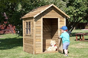 AVANTI TRENDSTORE - Lilo - AVANTI TRENDSTORE - Lilo - Cassetta da giardino in legno per bambini, dimensioni: LAP 124x154x113 cm - 1