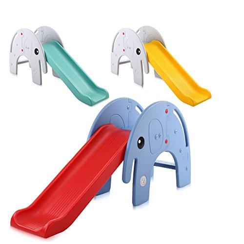 Baby Vivo scivolo per bambini/tobogánl–Elefante in Rosso/Blu - 1