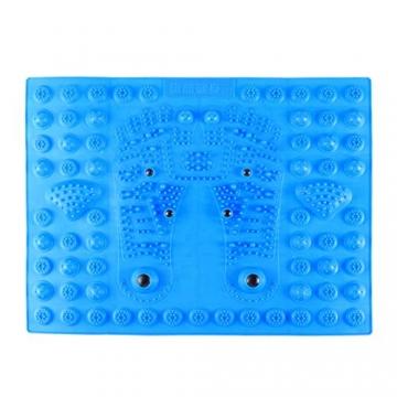 BIEE Tappetino per Massaggio ai Piedi, Zerbino per digitopressione Piede Reflexology Mat Materassino per riflessologia Magnetica Terapia - 2