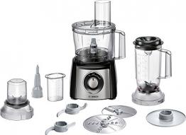Bosch Mcm3501M Robot da Cucina Compatto, 800 W, Plastica, Acciaio Inossidabile, Nero/Argento - 1