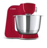 Bosch MUM58720 Macchina da Cucina 1000 W, 3.9 Litri, Acciaio Inox e Plastic 7 velocità, Rosso - 1