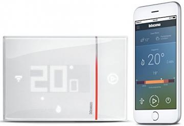 BTicino Smarther SX8000W Termostato Connesso da Muro con Wi-Fi Integrato, Bianco - 3