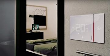 BTicino Smarther SX8000W Termostato Connesso da Muro con Wi-Fi Integrato, Bianco - 4