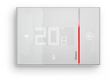 BTicino Smarther SX8000W Termostato Connesso da Muro con Wi-Fi Integrato, Bianco - 1
