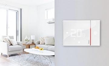 BTicino Smarther SX8000W Termostato Connesso da Muro con Wi-Fi Integrato, Bianco - 5