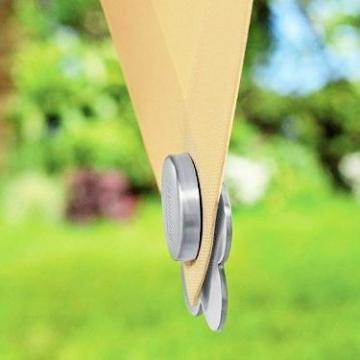 buy-safe.de, fermatovaglia magnetici, in acciaio inox di alta qualità, 4 pezzi - 2