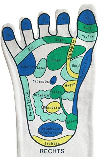 Calze, 1coppia–per il montaggio facile per riflessologia piede Riflessologia casa, piede Riflessologia, massaggi calzini, Reflexologie - 2