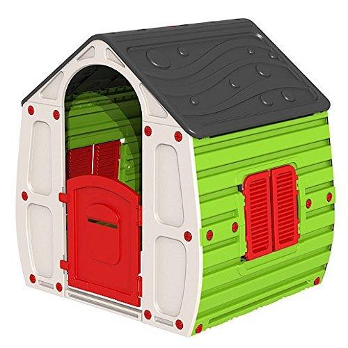 Casetta Gioco Per Bimbi cm.102X90X109H Casa Gioco Bambini Esterno Giardino - 1