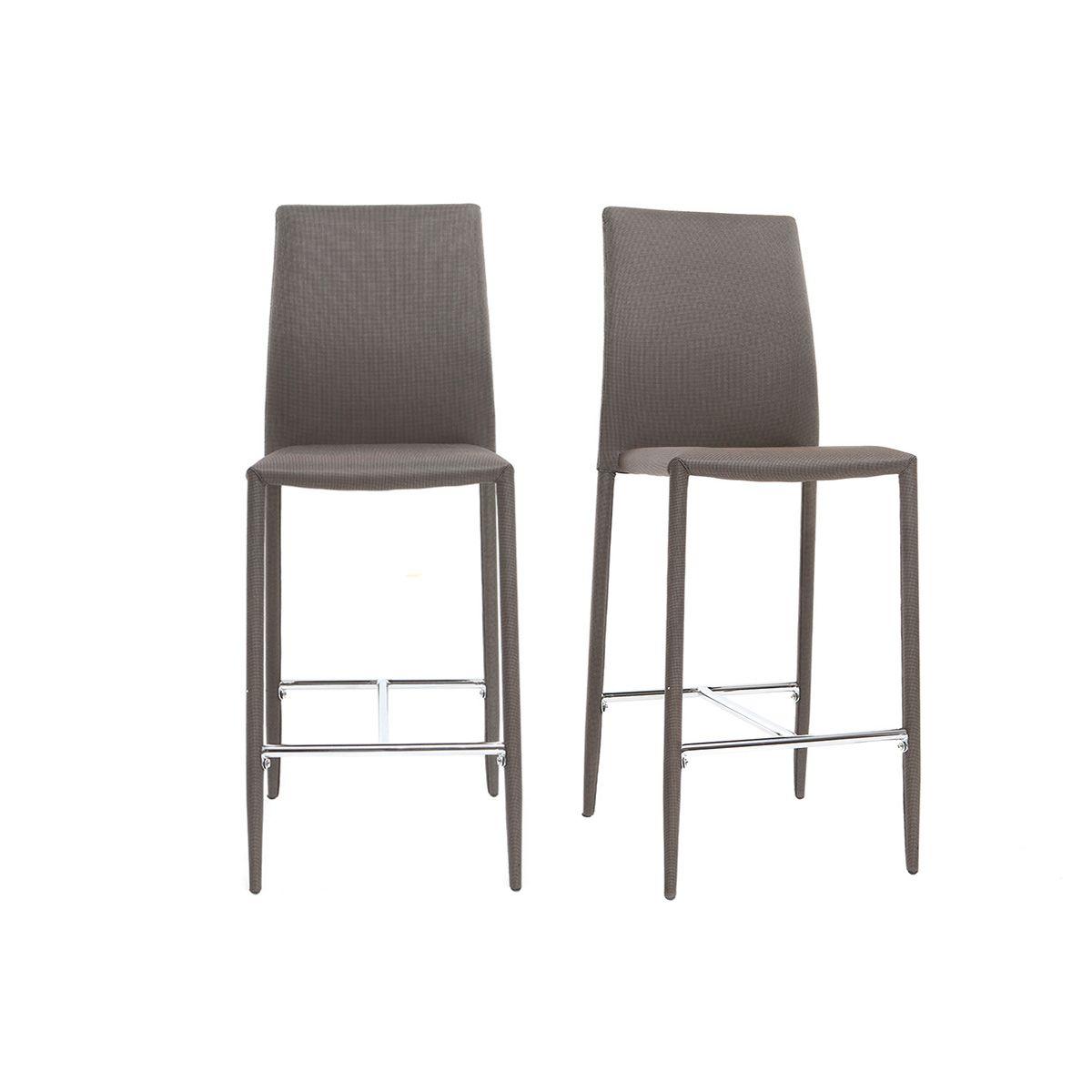 Dove acquistare Coppia di 2 sgabelli / sedie da bar design beige TALOS