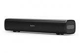 CREATIVE Stage Air la Soundbar Under-Monitor per Computer, Portatile e compatta alimentata Tramite USB, radiatore passivo per Bassi potenti, Bluetooth e AUX-in, 6 Ore di autonomia della Batteria - 1
