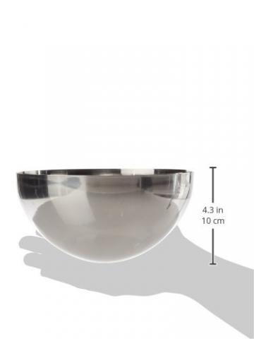 De Buyer 3133.20N - Stampo per dolci a forma di cupola emisferica, acciaio inossidabile - 2