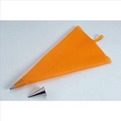 De Buyer 4347.03, Confezione: 1 Tasca da pasticciere da 35 cm, 1 beccuccio a stella, 1 beccuccio tondo - 1