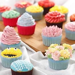 Decorazioni torte Set per pasticceria Set per decorare Beccucci Per Pasticceria Forniture per Decorazione di Torte Kit 304 Acciaio Inossidabile 30 Pezzi Con 2 TPU Pastry Bag - 1