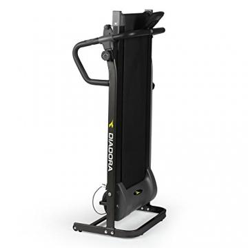 Diadora Forty Tapis roulant magnetico, monitor LCD, 8 livelli, Nero - 3