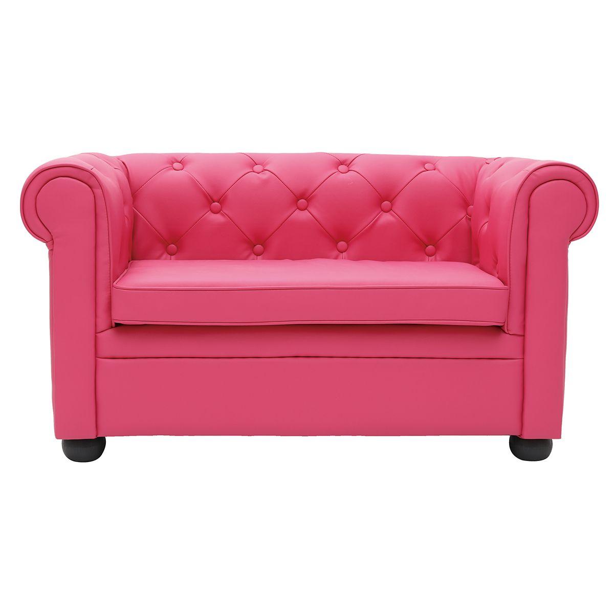 Dove acquistare Divano da bambino 2 posti BABY CHESTERFIELD rosa