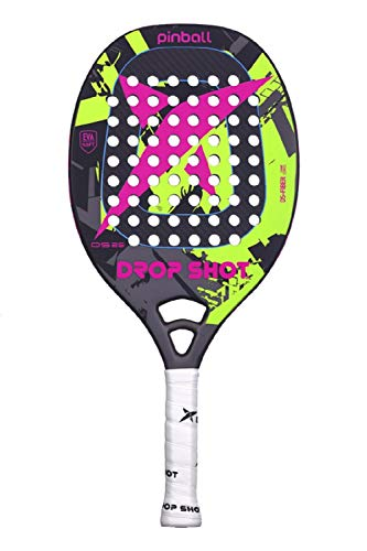 DROP SHOT Flipper Professionale Beach Tennis Wide Profile Paddle (Modello 2018) - 1