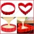 ✮ CuisineDuChef ✮ Stampo in silicone per dolci e pasticceria | Multiforme : cuore, tondo, quadrato, ecc | Stampo cottura originale | Ideale torta di compleanno e decorazione | 4 pezzi fai da te da ass - 1