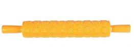 EVRYLON Mattarello con Decorazioni Forme Fiore mattarello Decorativo per Biscotti in plastica per Cake Design Visto in TV - 1