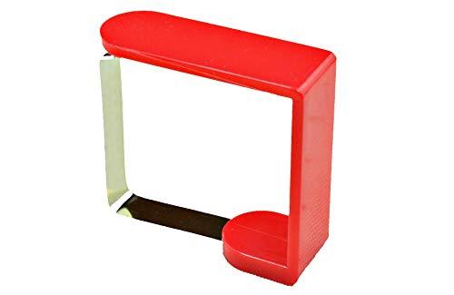 Fermatovaglia (8pezzi) in plastica Rosso 1 Set - 1